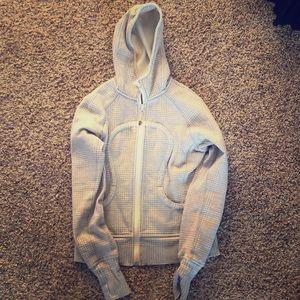 Lululemon scuba gray hoodie